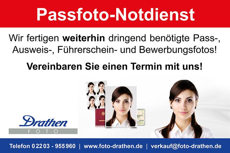 Passfoto-Notdienst Köln